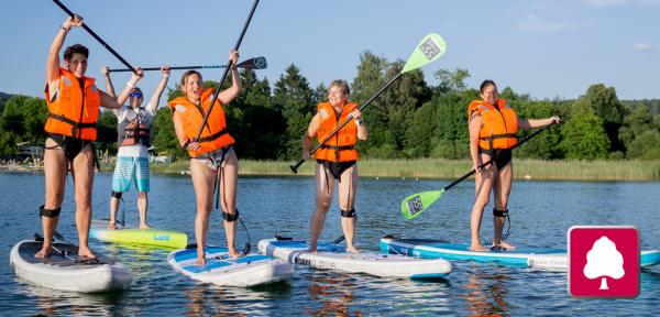 Stand-Up Paddling-Kurse auf dem Greifensee