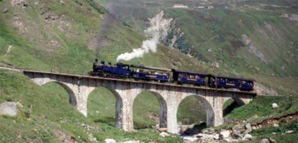 Furka-Dampfbahn: Einzigartiges Erlebnis am Berg