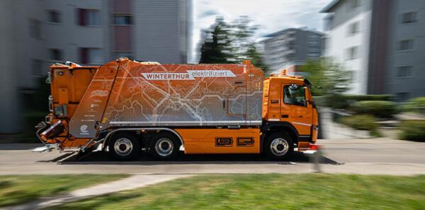 «Futuricum Winterthur» (elektrische Nutzfahrzeuge)